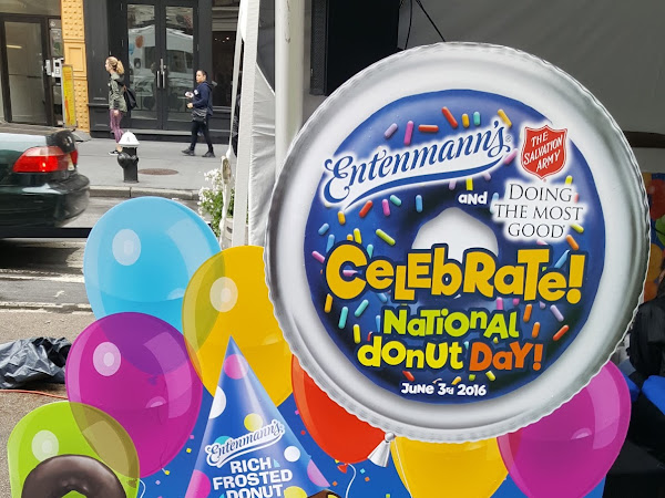 Celebrating National Donut Day with Entenmann's & The Salvation Army