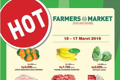 Katalog Farmers Promo Weekend JSM 22 - 24 Maret 2019
