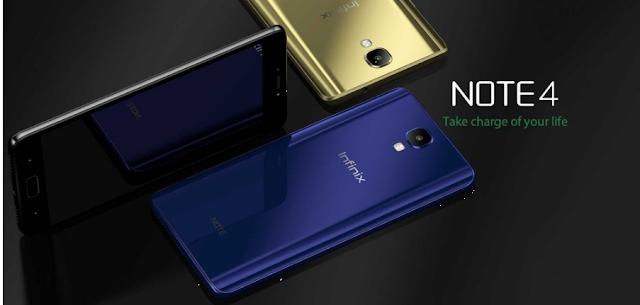 Infinix Note 4, Smartphone Untuk Aktifitas Tinggi