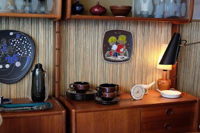 東京代々木八幡のコーヒーバー Fuglen Tokyo 北欧食器