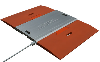 Low Profile Portable Axle Scales