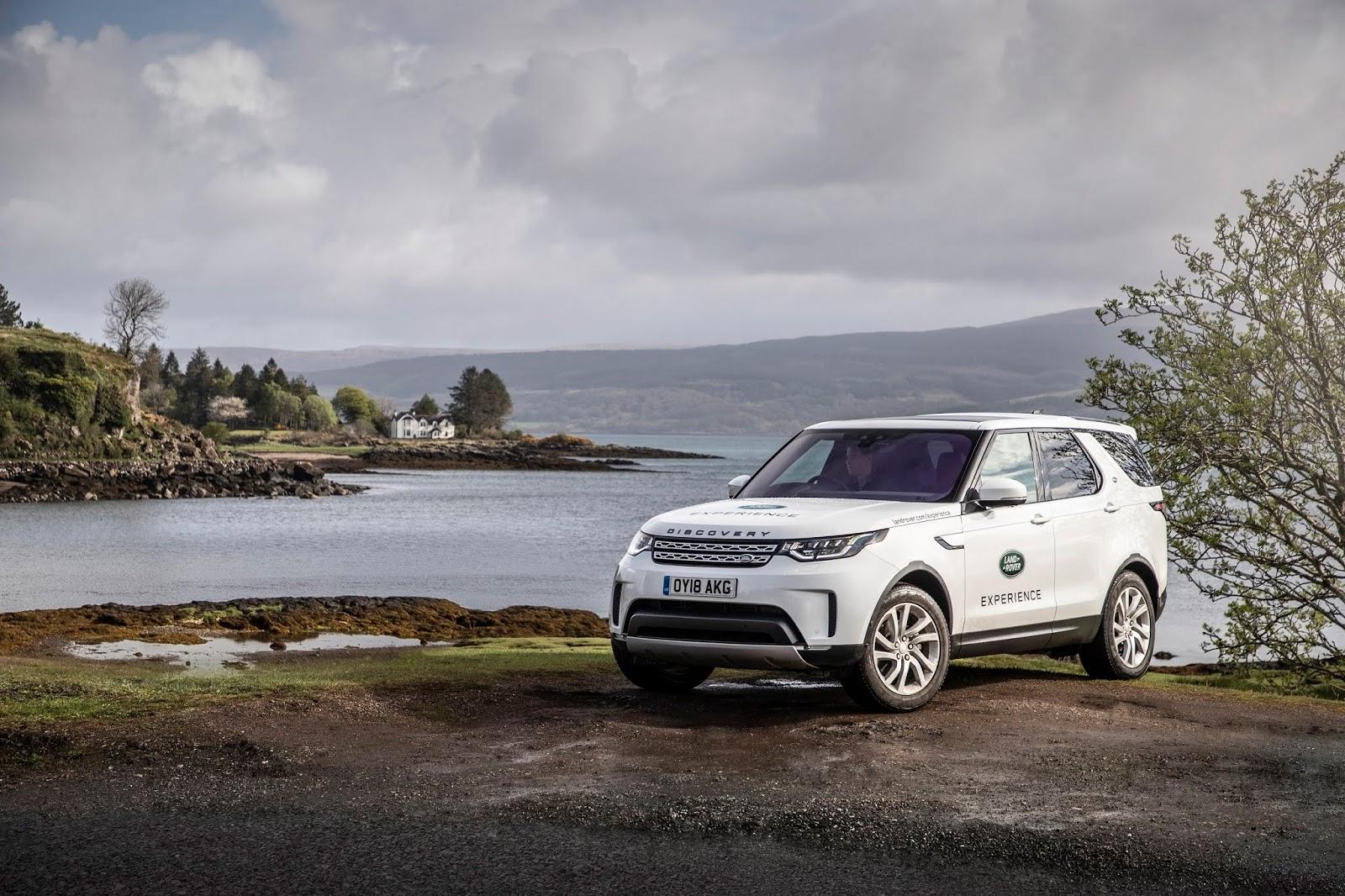 Land Rover Offre Agli Abitanti Dellisola Di Mull Scozia Un