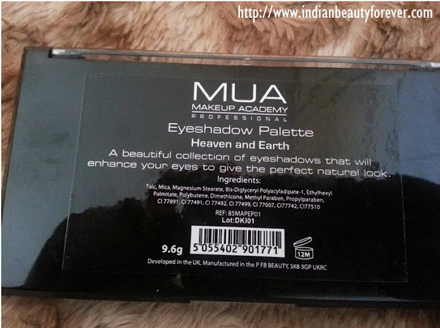 mua heaven and earth