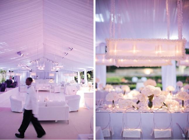 All-White Wedding Decor - Belle The Magazine