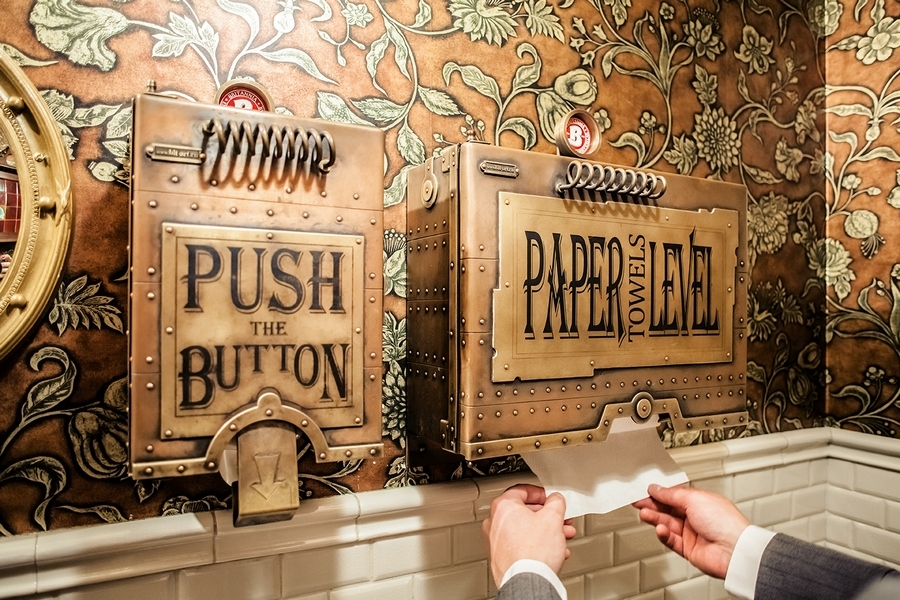 10-Paper-Dispenser-and-Hand-Dryer-Dmitry-Tihonenko-Average-Items-given-the-Steampunk-Treatment-www-designstack-co