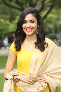 Reetu Varma Stills in Yellow Salwar Kameez at Pelli Choopulu Success Meet    ~ Bollywood and South Indian Cinema Actress Exclusive Picture Galleries