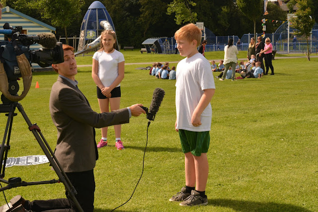 interview, news, granada reports, itv news, sports, fitness, school, park, iamteamgb