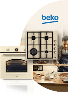 Castiga un set rustic Beko