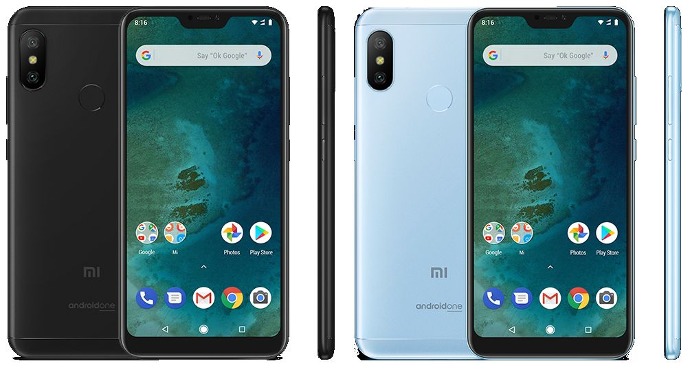 Xiaomi Mi A2 Lite (2018) with Specifications and Prices