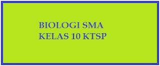 Contoh Soal UTS Biologi SMA Kelas X Semester Ganjil KTSP 2015