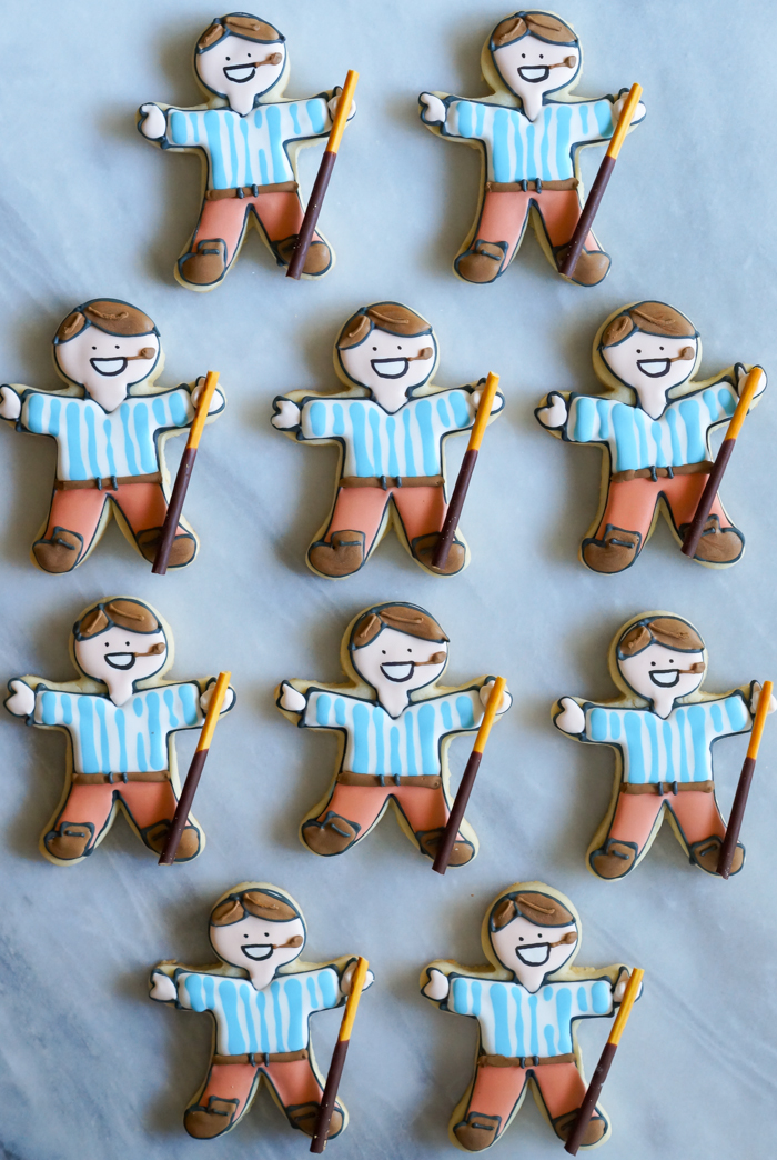 Pier Giorgio Frassati Decorated Cookies | bakeat350.net