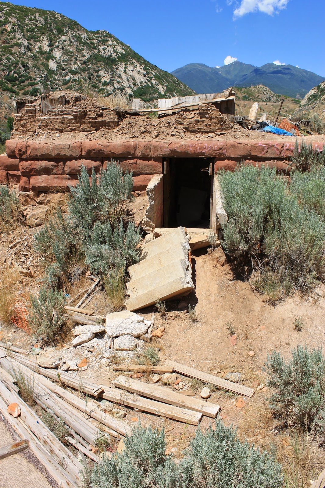 My Ghost Town Tour Thistle Utah County