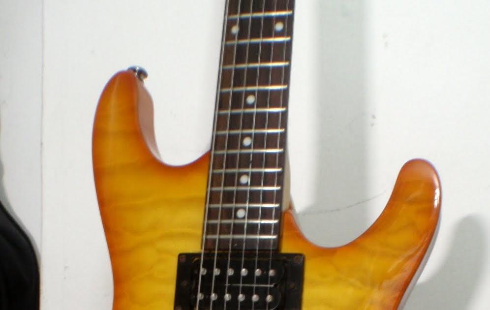 Khalid S Guitar Aid Ibanez Gio Copy