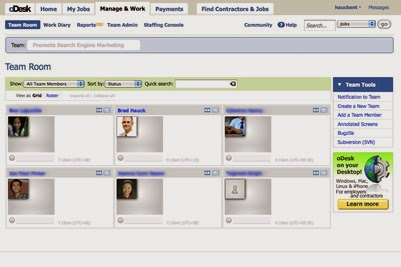 How to View Other Team Member s Work Diary in oDesk Team Room