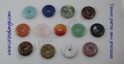 les bijoux lithotherapie de cristalange lithoth rapie donuts pierres semi pr cieuses. Black Bedroom Furniture Sets. Home Design Ideas