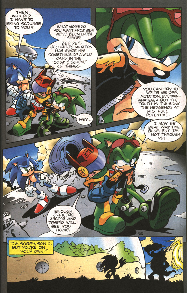Read online Sonic The Hedgehog comic -  Issue #197 - 23