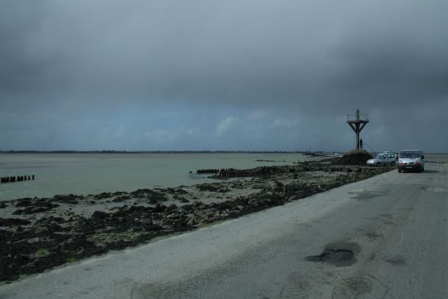Grain en approche au Passage du Gois (Noirmoutiers 2012)