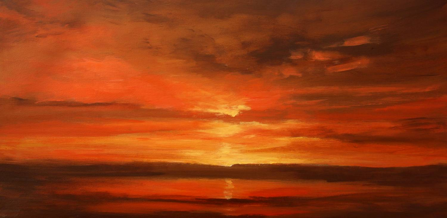 Famous Oil Paintings Sunset
