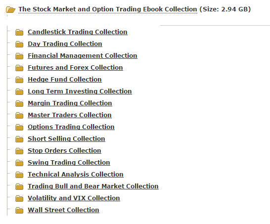 The Stock Market and Option Trading Ebook Collection