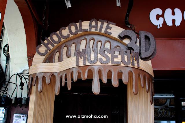 georgetown heritage chocolate penang and 3D Chocolate museum, kedai coklat, muzium coklat, beli coklat sedap kat mana,