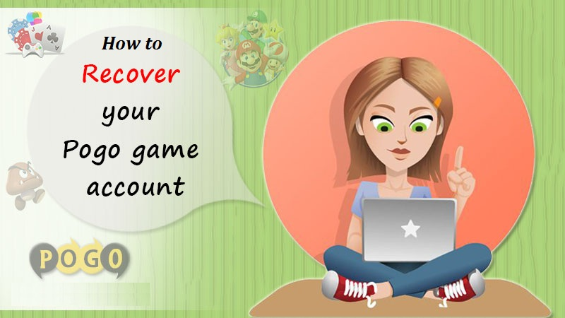 How to Recover the Pogo Game Account Password?