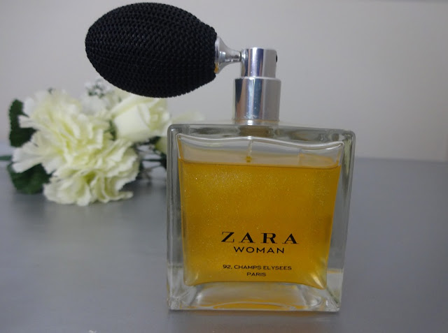 ZARA woman champs elysees perfume review