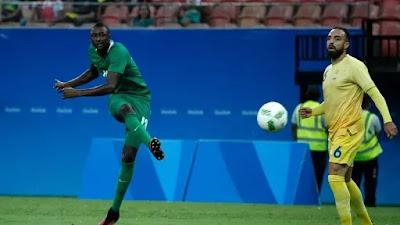 Sadiq Umar of Nigeria at Olympic in Brazil