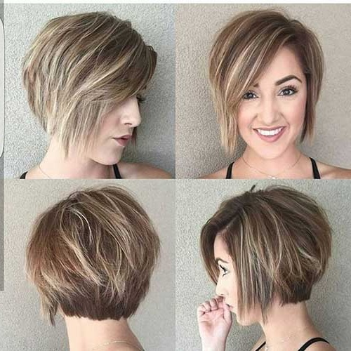 Short Haircuts For Round Faces Short Haircut Styles Short