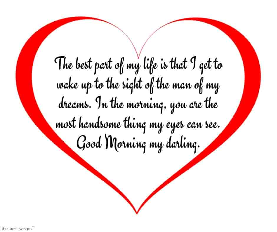 good morning message for husband images