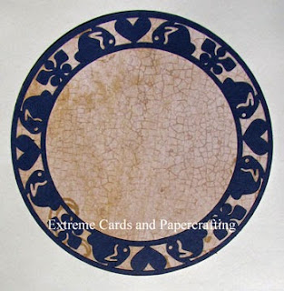 Dedham pottery plate frame