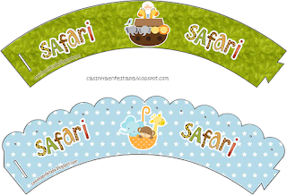 Mini Kit de Safari para Bebés para Imprimir Gratis.