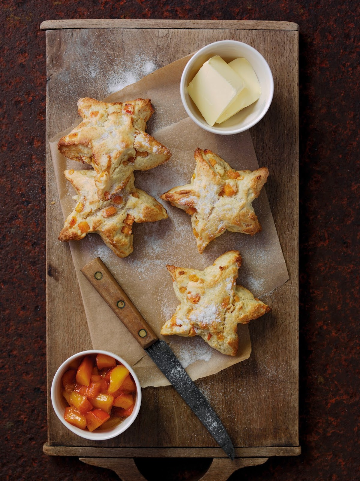 Persimon® Star Scones: Great For Afternoon Tea