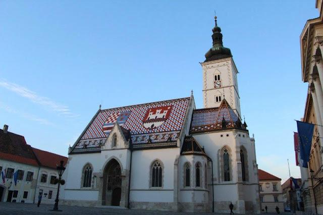 Iglesia San Marcos / Zagreb, Croacia