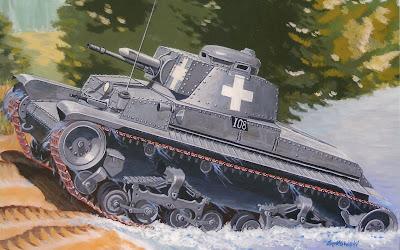 Легкий танк Pz.Kpfw. 35 (t)