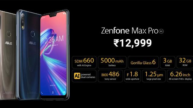 Asus Zenfone Max Pro M2 full specs