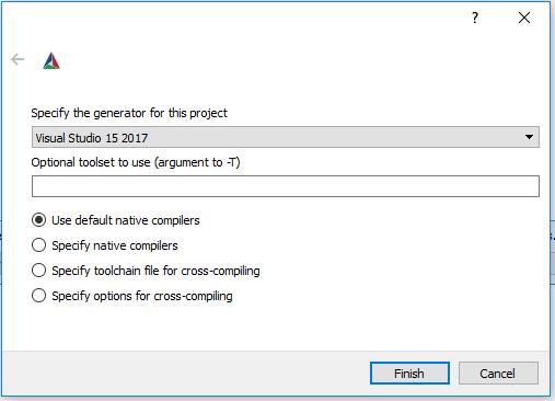 g0jirasan: Compiling libssh in Visual Studio 2017