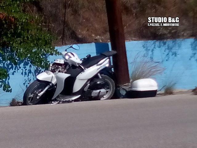 Αργολίδα: Τροχαίο ατύχημα με μηχανή στο Τολό - Σοβαρός τραυματισμός του οδηγού