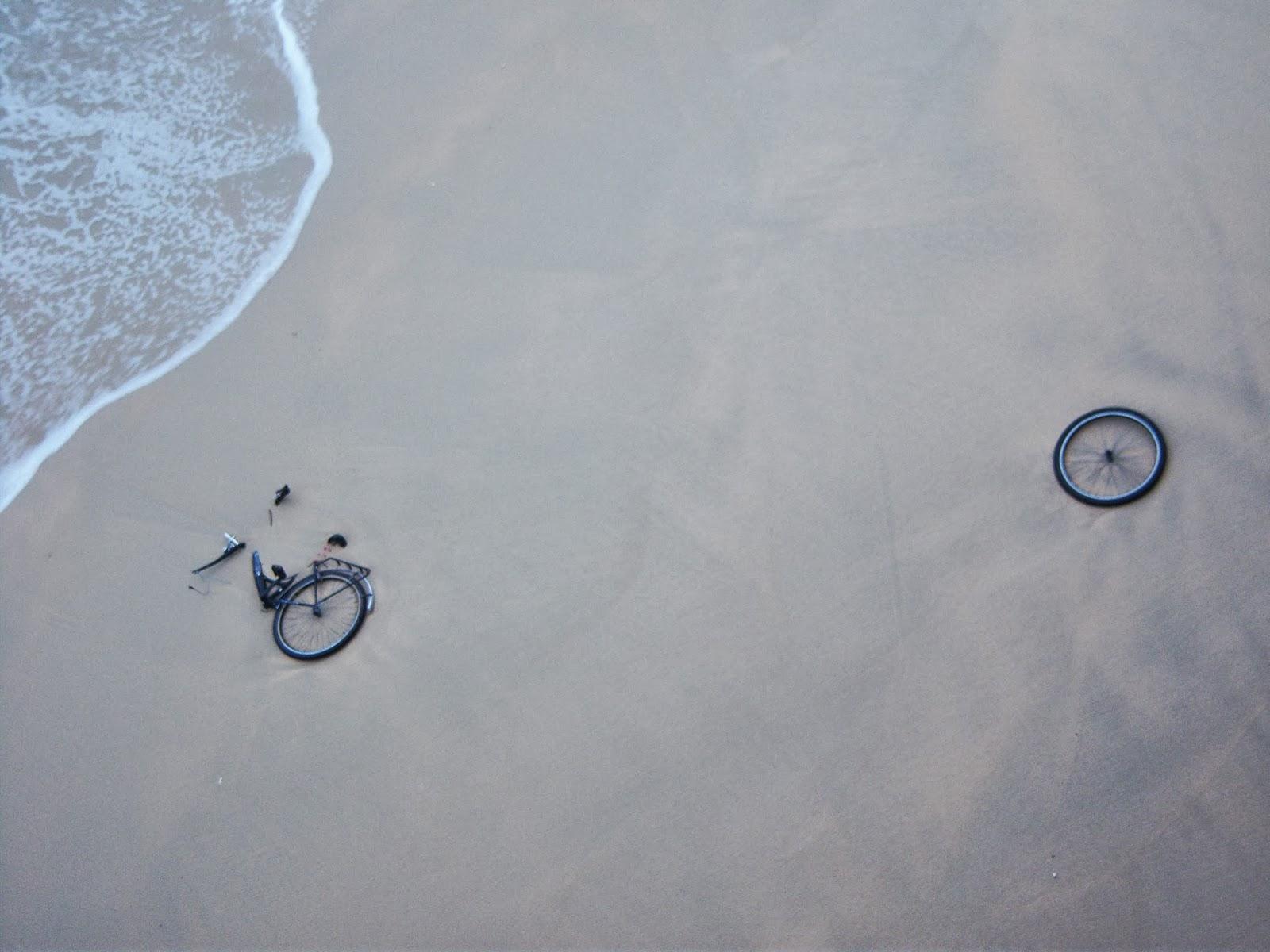 Resultado de imagen de bicicleta despeñada
