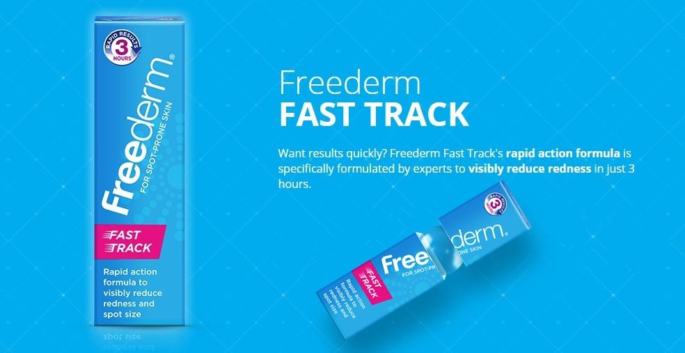 Freederm Fast Track Gel Obat Paling Ampuh Menghilangkan Jerawat