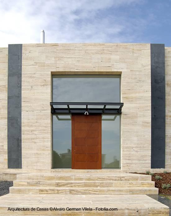 Arquitectura de casas fachadas modernas de casas - Fachadas arquitectura ...