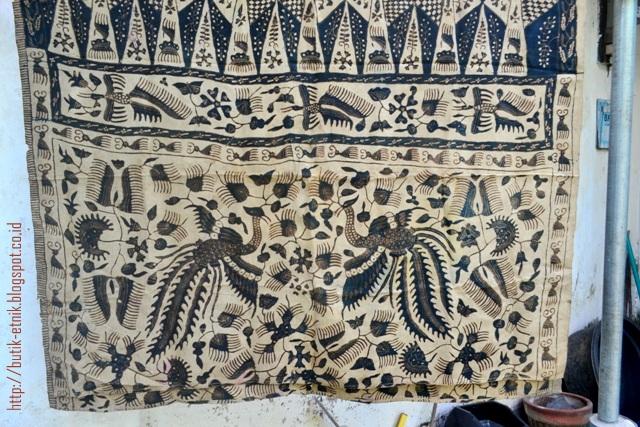 batik tulis sutera rembang kuno motif lokcan 2 batik tulis sutera ...