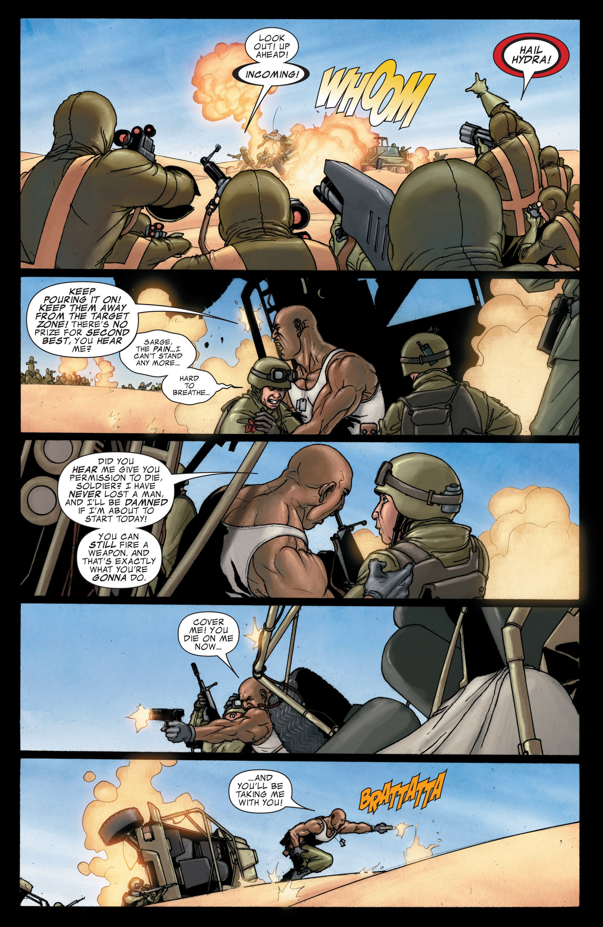 Read online Secret Invasion: The Infiltration comic -  Issue #4 - 5