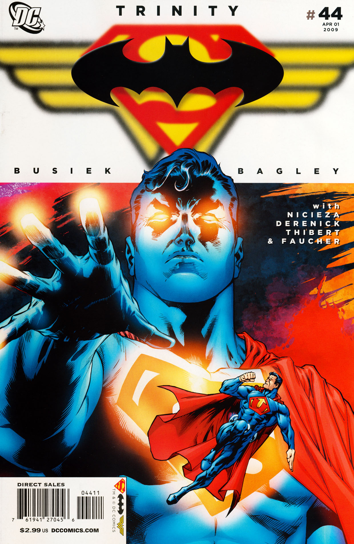 Read online Trinity (2008) comic -  Issue #44 - 1