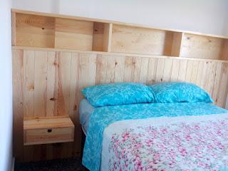 Cabecero de dormitorio a medida en Zaragoza