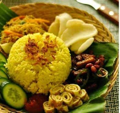 resep nasi kuning gurih dan enak