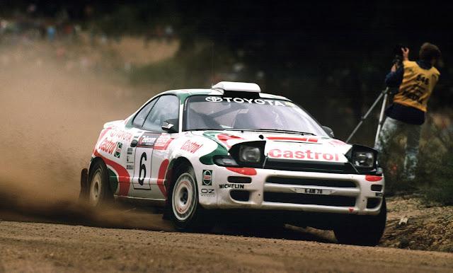 Toyota Celica, samochody do rajdów, auta sportowe z lat 90