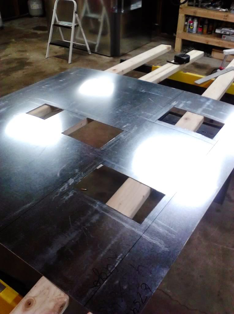 powder coating oven sheet metal
