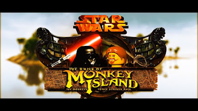 Star Wars - The Brick of Monkey Island: The Monkey's Force Strikes Back