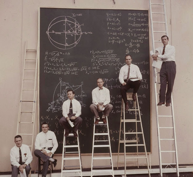 Imaginas cómo era la NASA antes del Power Point?