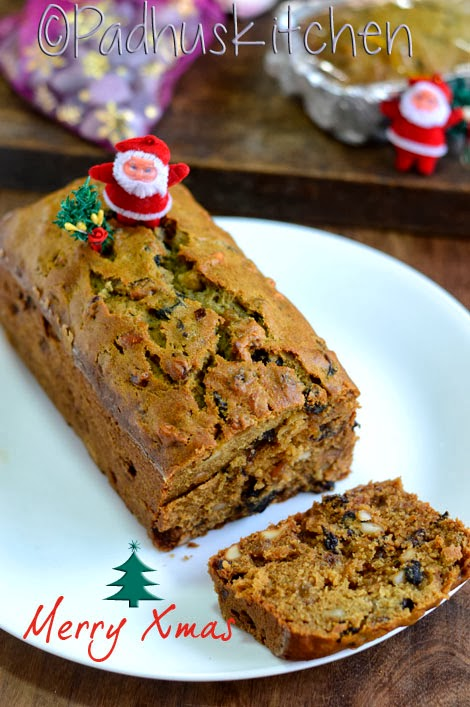 Easy Christmas Fruit Cake